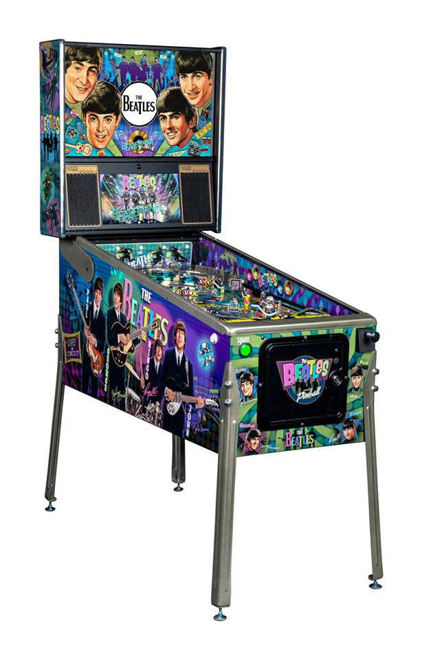 The Beatles Pinball Machine Platinum Edition - Overview Left