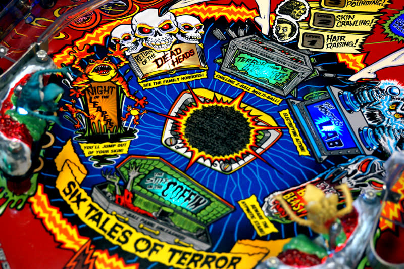 Scared Stiff Pinball Machine - Tales Of Terror