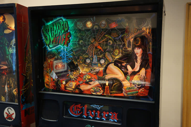 Scared Stiff Pinball Machine - Backbox