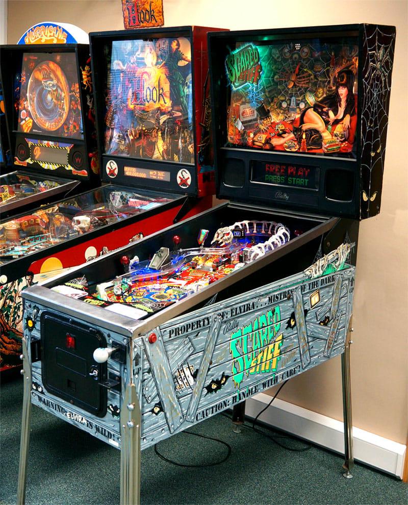 An image of Scared Stiff Pinball Machine