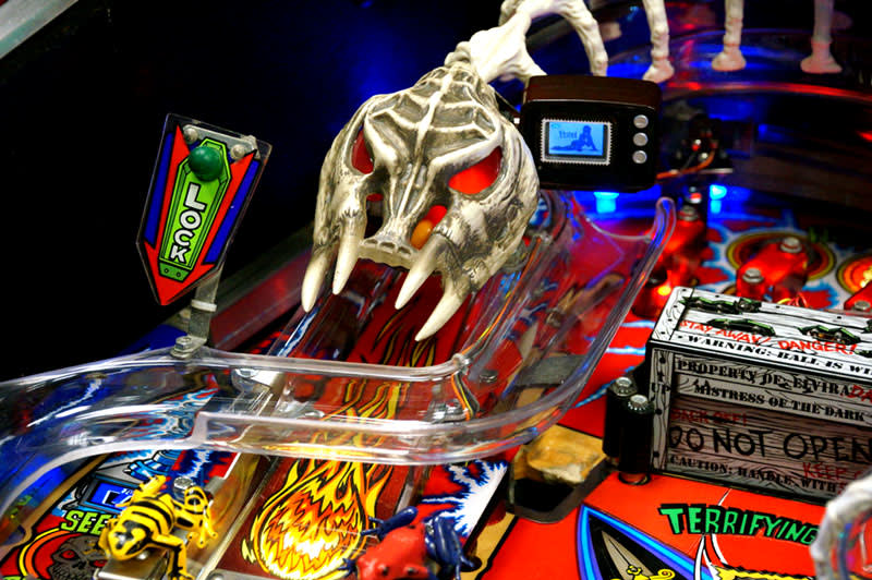 Scared Stiff Pinball Machine - Bony Beast Ramp
