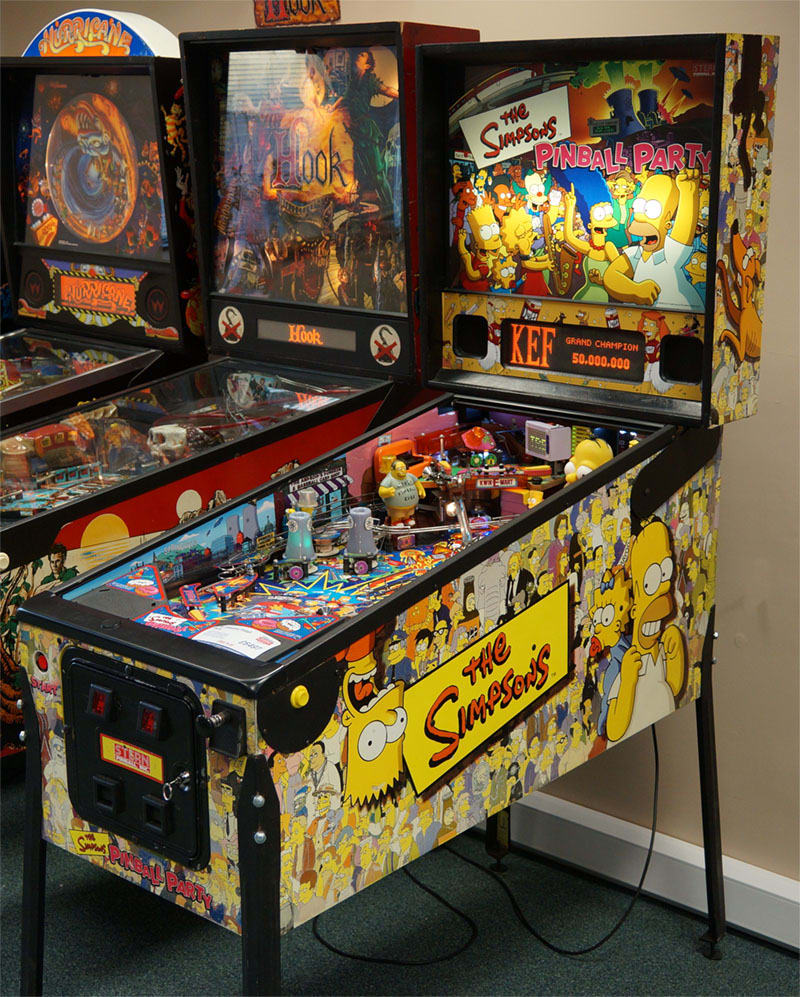 An image of The Simpsons Pinball Party Pinball Machine