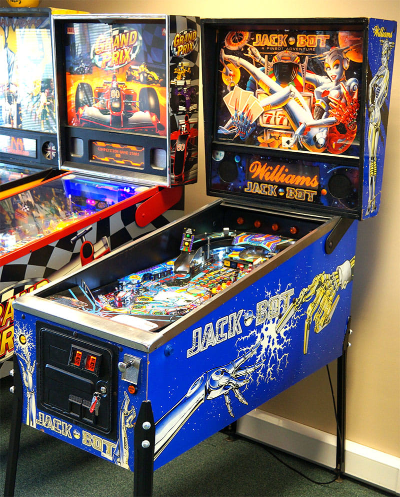 An image of Jack Bot Pinball Machine