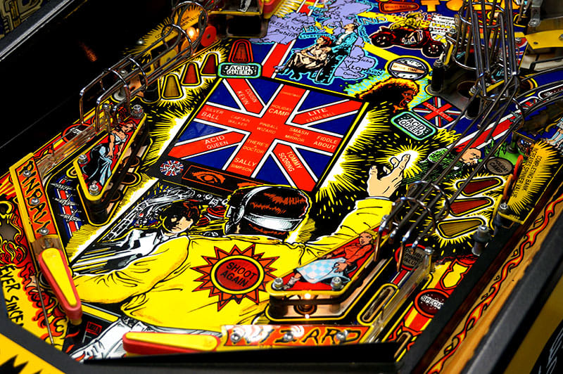 The Who's Tommy Pinball Machine - Flippers