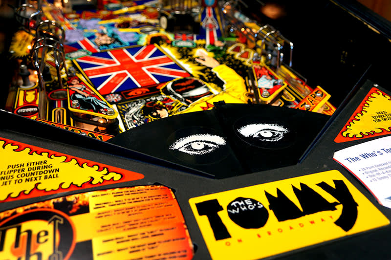 The Who's Tommy Pinball Machine - Blinder Arch