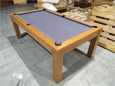 Signature Chester Oak Pool Dining Table 7ft: Warehouse Clearance