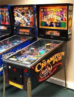 The Champion Pub Pinball Machine