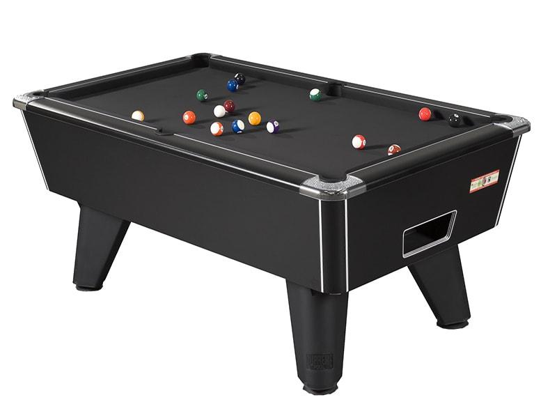 Buy Black Pool Tables Online | Black American & English Pool