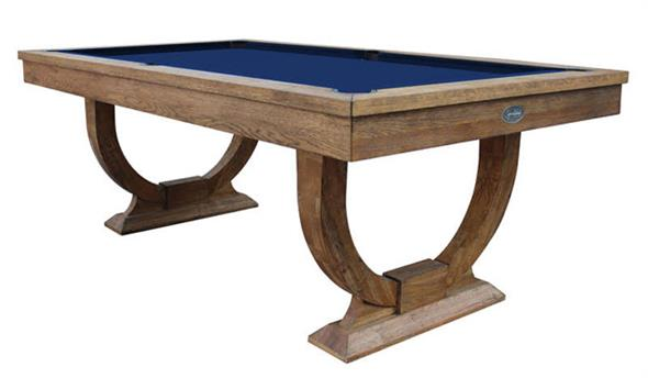 Signature Huntsman Rustic Oak Pool Dining Table - 7ft: Warehouse Clearance