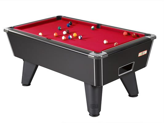 Supreme Winner Pool Table: Black Pearl - 6ft, 7ft