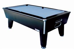 Signature Harvard American Pool Table: Black - 7ft