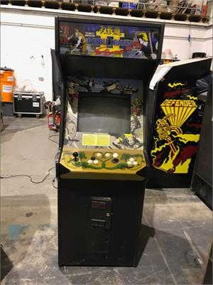 Double Dragon II Arcade Machine