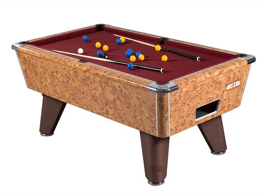 Supreme Winner Pool Table: Amberwood - 6ft, 7ft