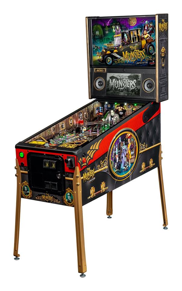 The Munsters LE Pinball Machine