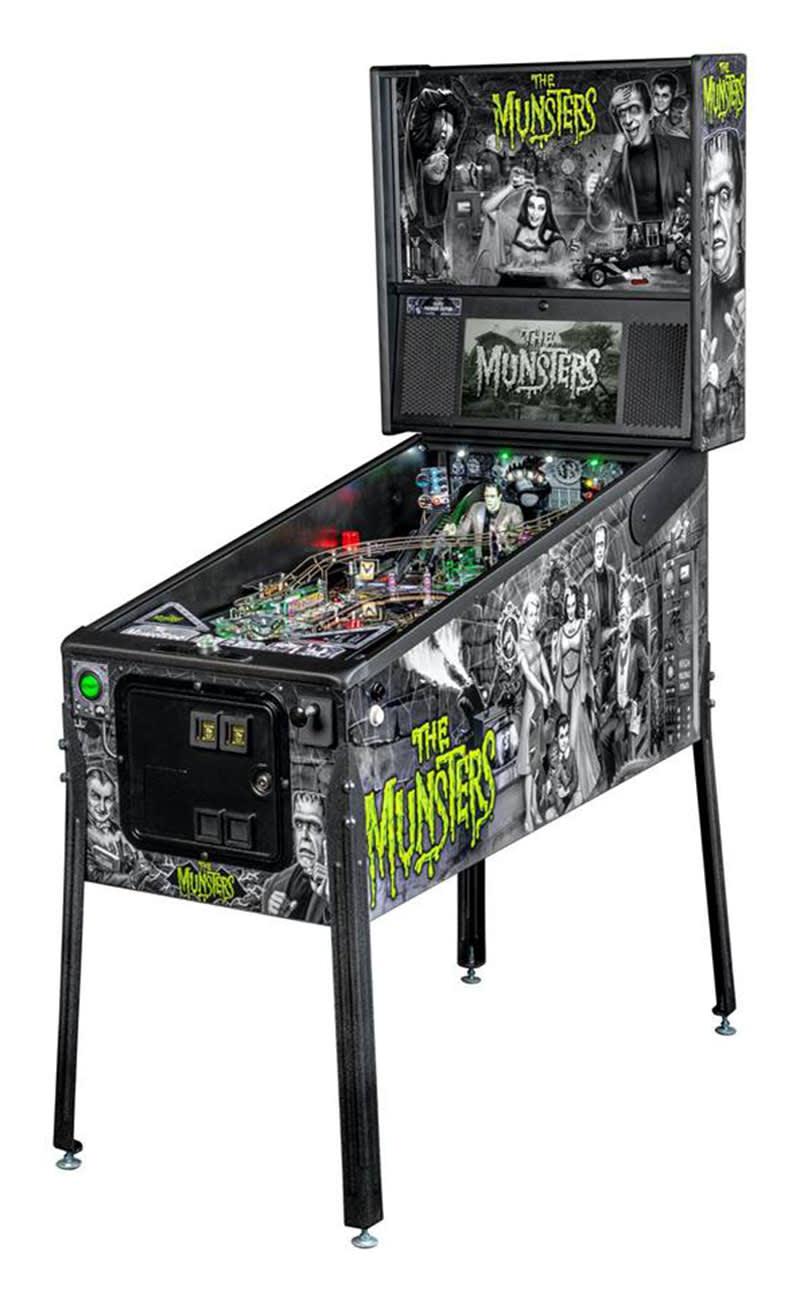 The Munsters Premium Pinball Machine