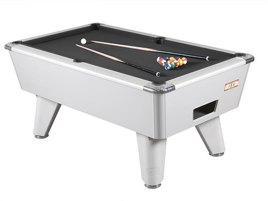 Supreme Winner Pool Table: Aluminium - 6ft, 7ft
