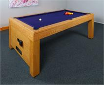 Signature Vantage Contactless Pool Dining Table: 7ft
