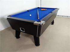 Signature Tournament Pool Table: Black - 7ft - Warehouse Clearance