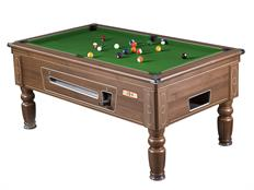 Supreme Prince Pool Table: Walnut - 7ft: Warehouse Clearance