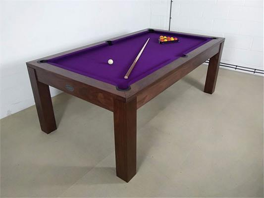 Signature Chester Walnut Pool Dining Table - 7ft: Warehouse Clearance