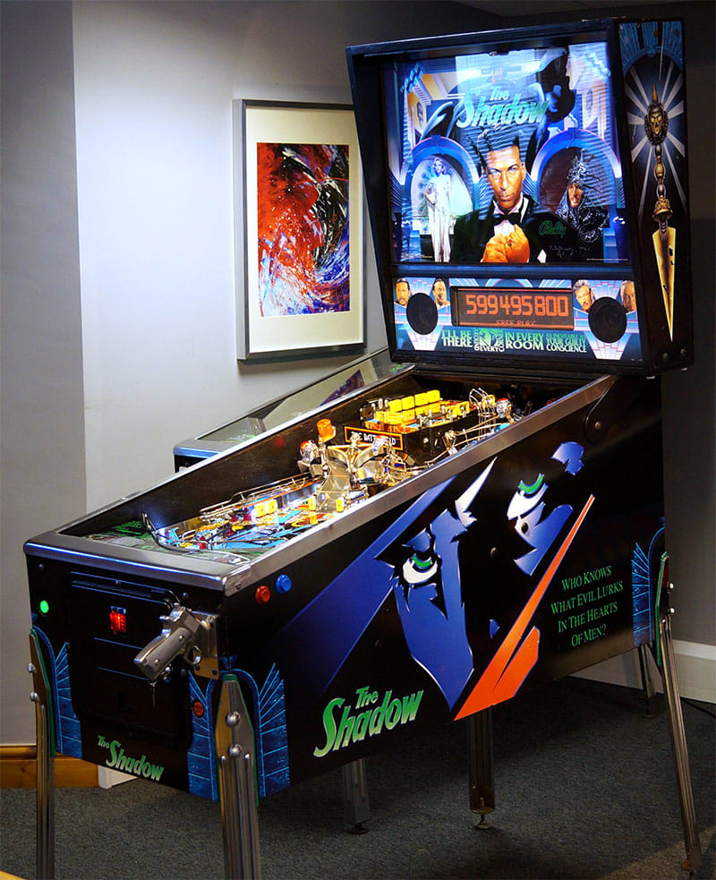 An image of The Shadow Pinball Machine