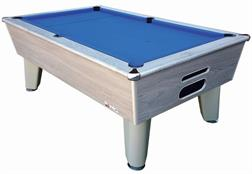 Signature Harvard American Pool Table: Silver Oak - 7ft