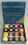 "2 1/4"" Aramith US Super Pro Cup Pool Ball Set"