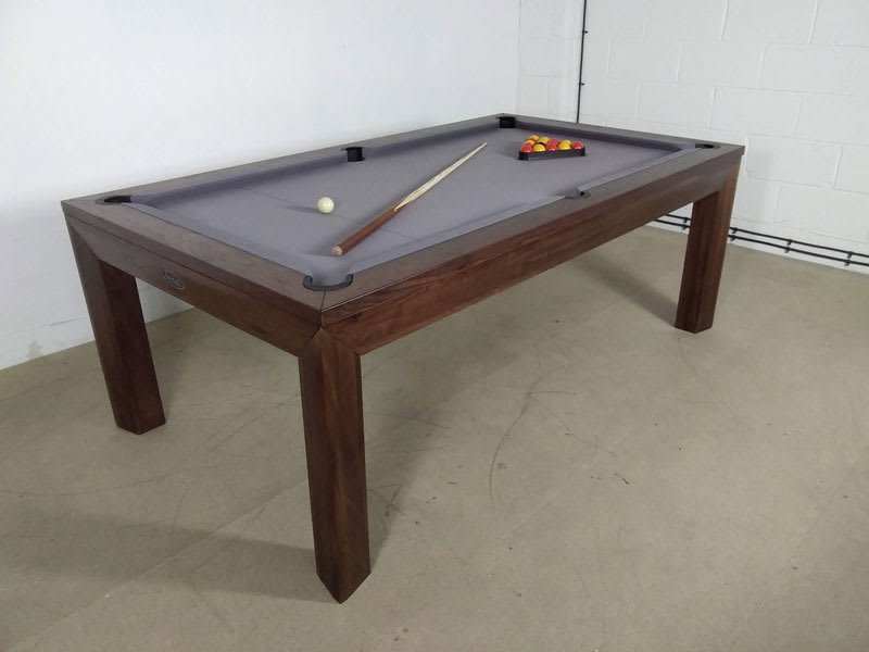 Signature Anderson Walnut Pool Dining Table   7ft: Warehouse Clearance |  Free Delivery U0026 Installation