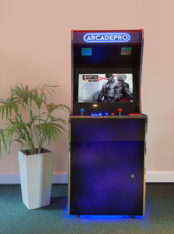 ArcadePro Saturn Arcade Machine - Front
