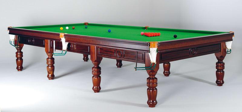 An image of Sam Tagora Snooker Table Mahogany - 10ft |