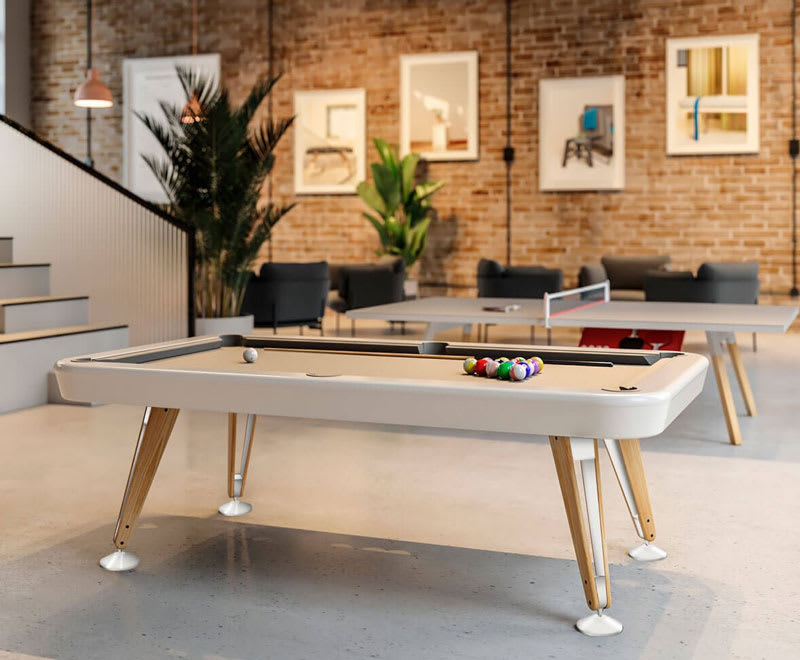 RS Barcelona Diagonal American Pool Table - Room Shot