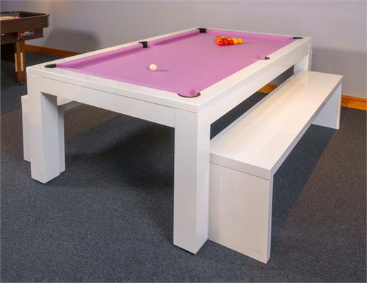 Signature Hawkes Pool Dining Table - All Finishes: 7ft