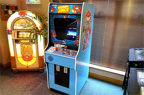 Donkey Kong Junior Arcade Machine - Blue Cabinet