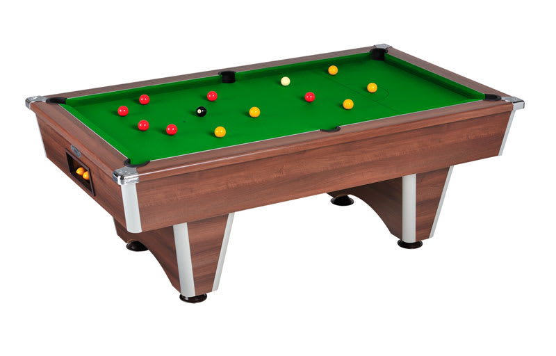 An image of Signature Champion Pool Table: Walnut - 6ft, 7ft