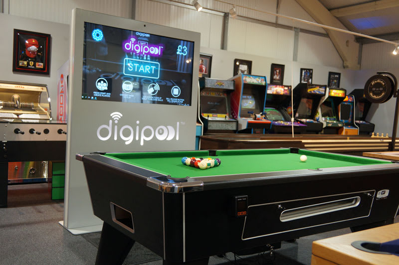 An image of Digipool Contactless Pool Table - 6ft, 7ft | Commercial Rental Availab