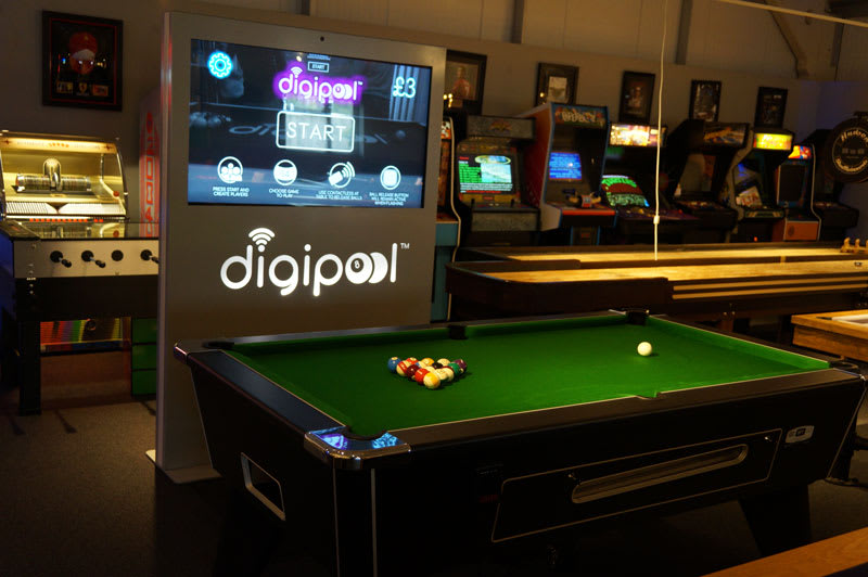 Digipool in Showroom