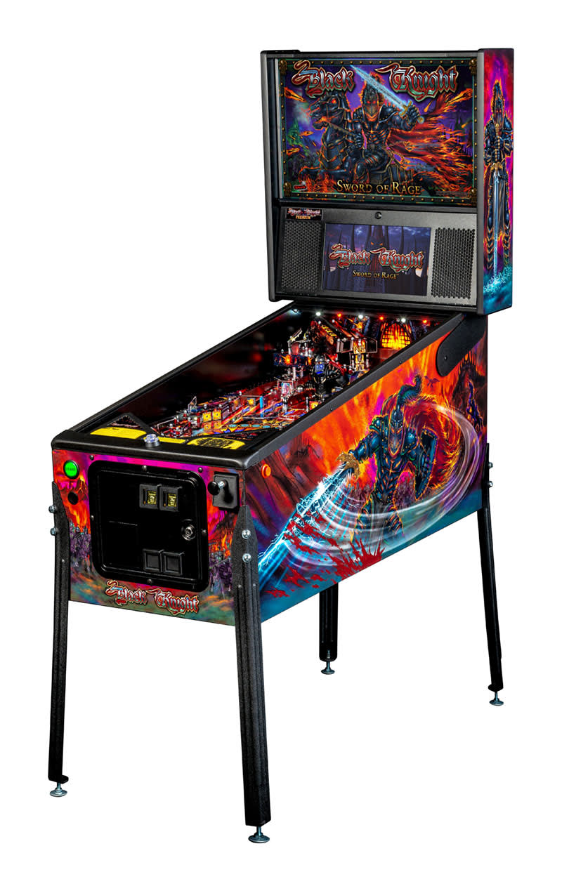 Black Knight: Sword of Rage Pinball Machine (Premium)
