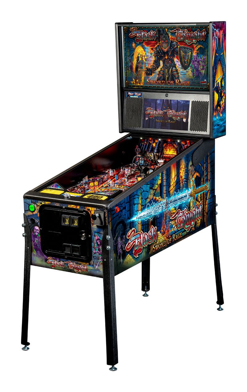 Black Knight: Sword of Rage Pinball Machine (Pro)