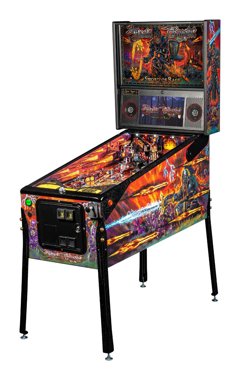 Black Knight: Sword of Rage Pinball Machine (LE)