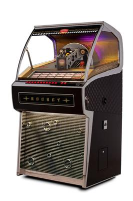 Sound Leisure Vinyl Rocket Black Pack Jukebox