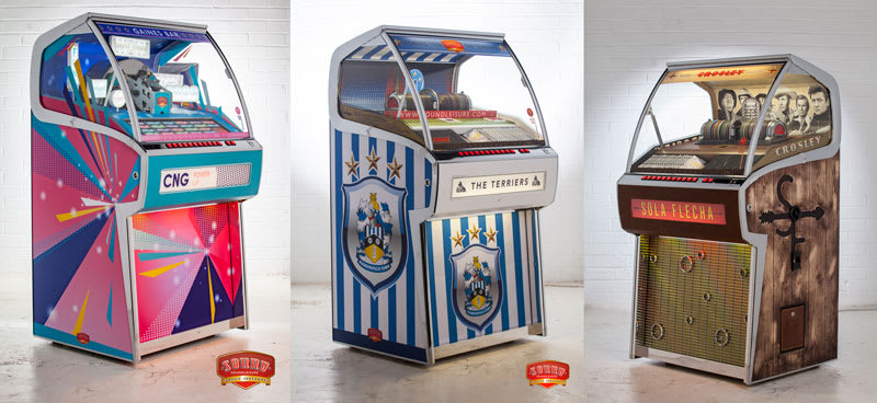 An image of Sound Leisure Custom Jukebox