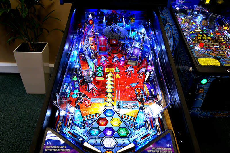 Star Trek Pinball Machine Pro Version - Playfield