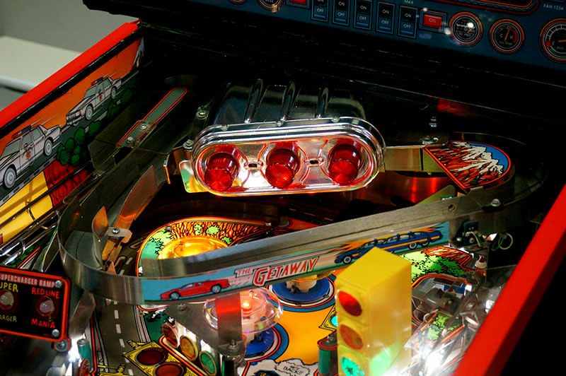 The Getaway Pinball Machine - Supercharger