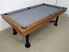 Signature McQueen Oak Pool Dining Table - 7ft: Warehouse Clearance