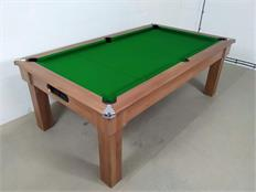 Signature Oxford Pool Dining Table: Walnut - 7ft: Warehouse Clearance