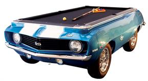 Camaro SS 1969 Car Pool Table