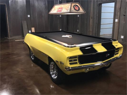 Camaro Z28 1969 Car Pool Table