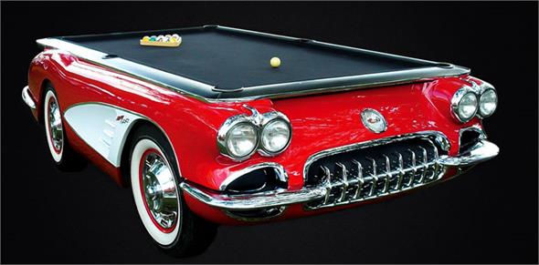 Corvette 1959 Car Pool Table