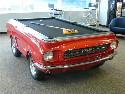 Ford Mustang 1965 Car Pool Table