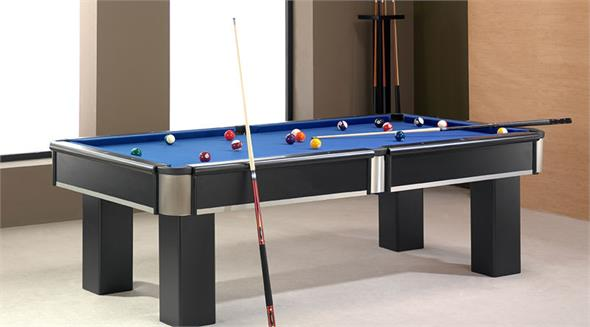 Bilhares Europa Blackinox Pool Table